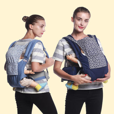 - 0-36 Months Baby Carrier 360 Multifunctional Front Facing Baby Carrier Infant Ergonomic Sling Backpack Pouch Wrap Kangaroo -   jetcube