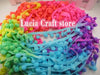 - 2*2y 7mm Width Pompom Ball Trims 2*2y/pack 17010704(7D4y) - Mixed Colors 3  jetcube