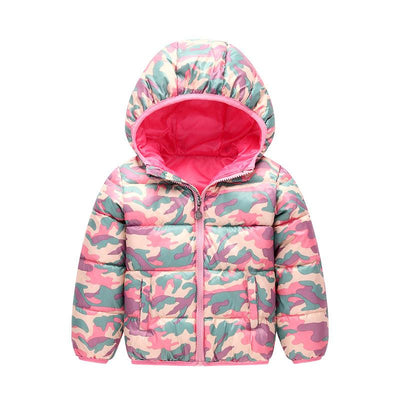 - 2-6 Years Dinosaur Pattern Girls Boys Coats 2017 Outerwear & Coats Fashion Boys Parkas Kids Clothes Warm Down Coats for Boys -   jetcube