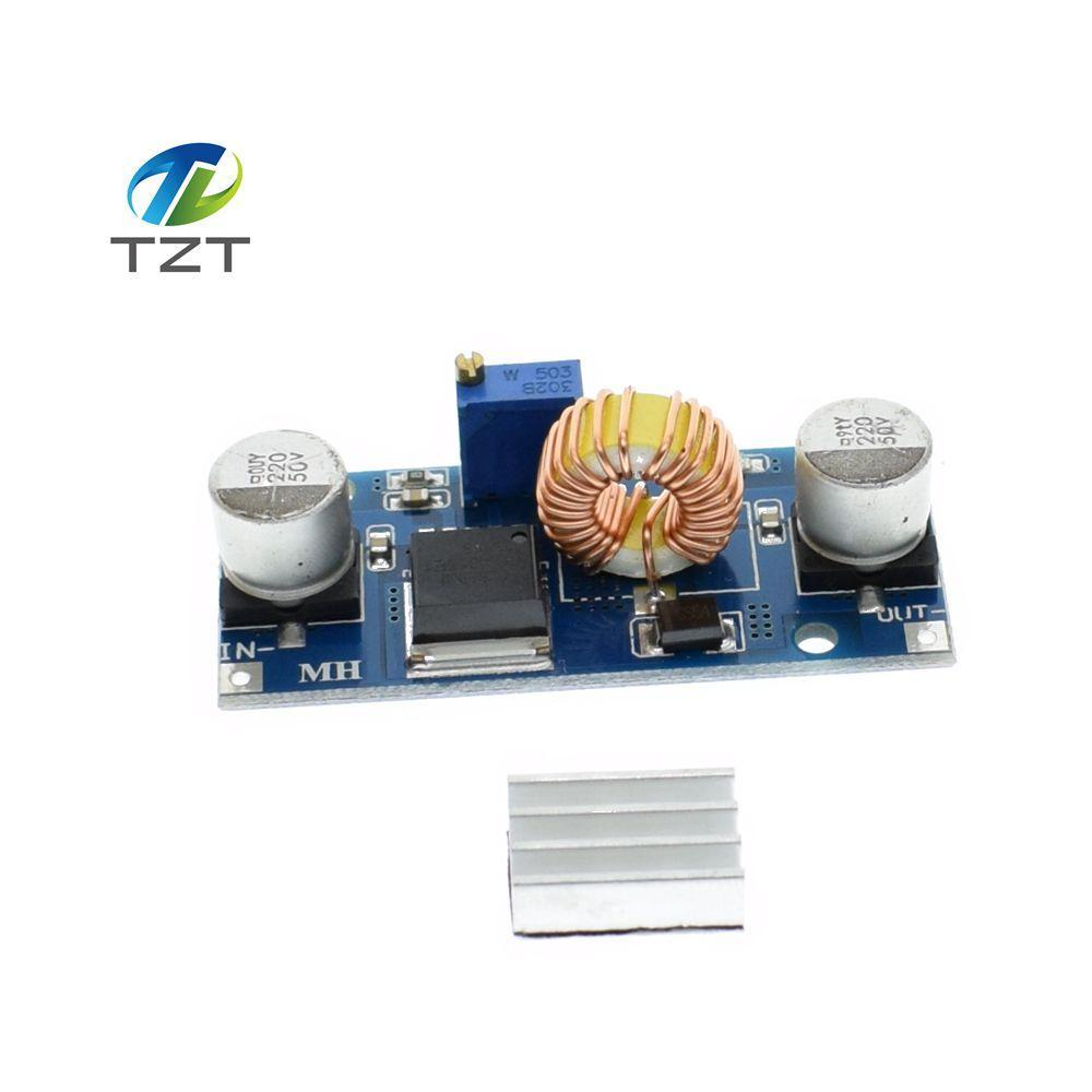 10pcs 5a Xl4015 Dc Step Down Adjustable Power Supply Module Led Lithium Charger Upcubeshop