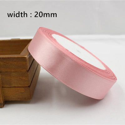 - 041, free shipping Wholesale 25 Yards Silk Satin Ribbon , Wedding decorative ribbons, gift wrap, DIY handmade materials - 20mm  jetcube
