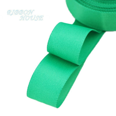 "- (5 meters/lot) 1"" (25mm) Grosgrain Ribbon Wholesale gift wrap Christmas decoration ribbons - Green  jetcube"