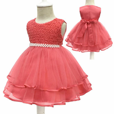 Free Shipping Cotton Lining 3m 18m Infant Dresses 2017 New Arrival