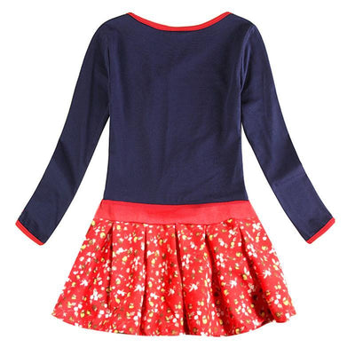 - 2-8y Girls party dresses nova kids wear hot selling children's clothing long sleeve fashion wedding girls dresses baby frocks -   jetcube