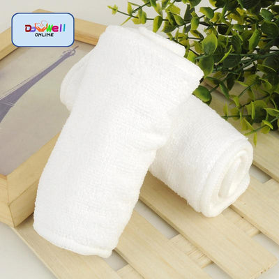 - (5pcs/lot)Reusable Newborn Diaper Inserts 4 layer Microfiber Soft Material Baby Infant Cloth Diaper Nappy Liner Absorbent Insert -   jetcube