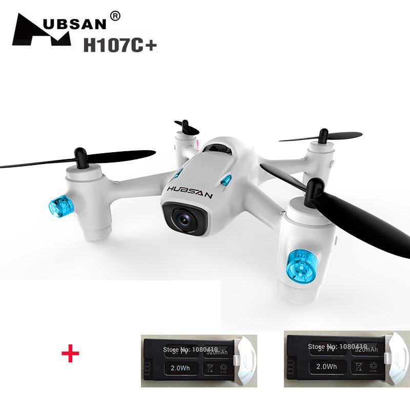 - (Get an extra battery) Hubsan X4 Camera Plus H107C+ (H107C Plus ) 6-axis Gyro RC Quadcopter with 720P Camera RTF In stock - Default Title  jetcube