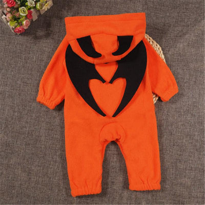- 0 to 24M Newborn Kids Baby Boy Girls Clothes New Style Cute Halloween Long Sleeve Romper Jumpsuit Outfits Baby Clothing -   jetcube