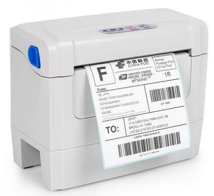 - 104mm stickers Barcode label printers clothing label printer Print speed is very fast printers -   jetcube