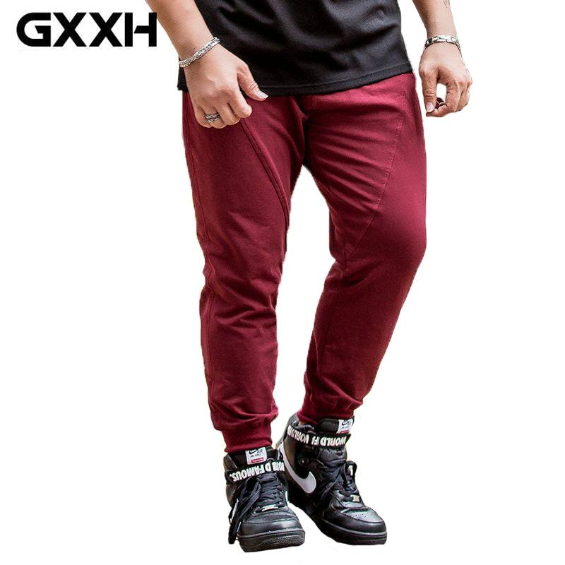 2972ff8d22e GXXH Brand Plus Size 5XL 6XL Baggy Mens Joggers Sweatpants Fashion Casual  2017 Knitting Autumn Oversized