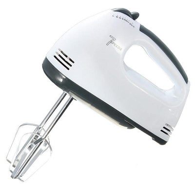 - 180W Egg Beater Electric Mixer EU Plug 7 Speeds Hand Mixer With 4 Different Type Stirrer Kitchen tool cake baking -   jetcube