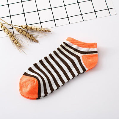 DOUDOULU women socks cotton high quality low cut ankle socks women's striped socks winter warm Calcetines rayados femeninos#QYW