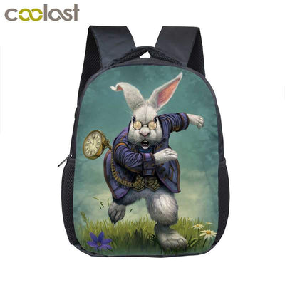 - 12 inch Customize Your Logo Name Image Toddlers Backpack Cartoon Children School Bags Baby Kindergarten Backpack Kids Gift Bags -   jetcube