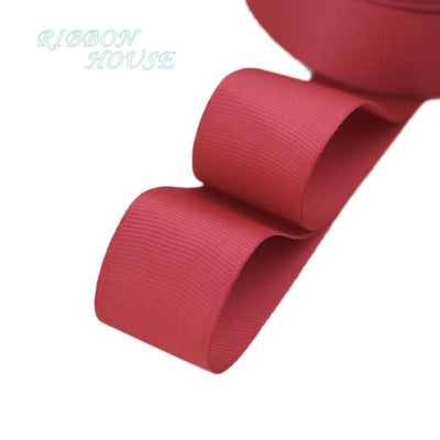 "- (5 meters/lot) 1"" (25mm) Grosgrain Ribbon Wholesale gift wrap Christmas decoration ribbons - Burgundy  jetcube"