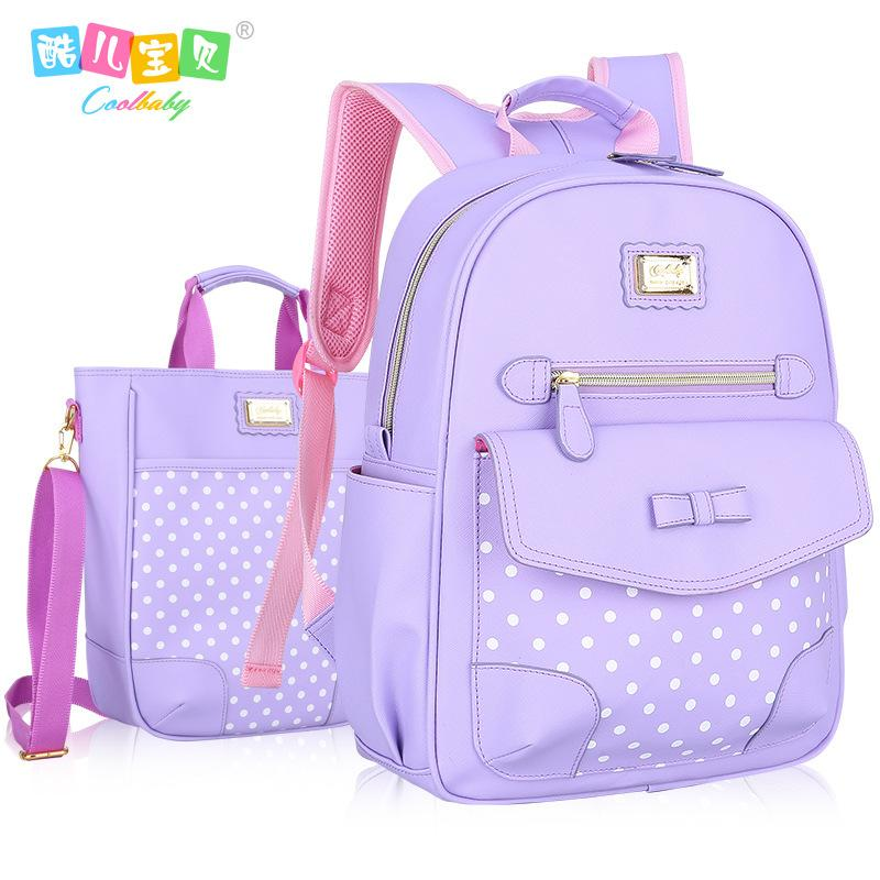 Fashion Grade1-6 Orthopedic Breathable Children Primary School Bags For Teenagers Girls Mochila Schoolbags Kids Backpack