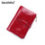 100% Women Genuine Leather Wallet Short Small Oil Wax Cowhide Purse Women's Vintage Lady Leather Clutch Coin Purses Card Holder