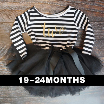 2017 Autumn Baby Clothing Stripe Cute Bow Casual Little Girl Dress For First Birthday Party Toddler Girl Clothes For Baby Child