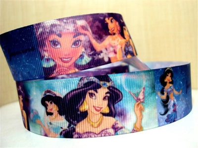 "- (5yds per roll) 1""(25mm) Cartoon high quality printed polyester ribbon 5 yards, DIY handmade materials, wedding gift wrap,5Yc956 - 1004166001  jetcube"