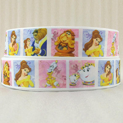 "- (5yds per roll) 1""(25mm) Cartoon high quality printed polyester ribbon 5 yards, DIY handmade materials, wedding gift wrap,5Yc956 - 2014973001  jetcube"