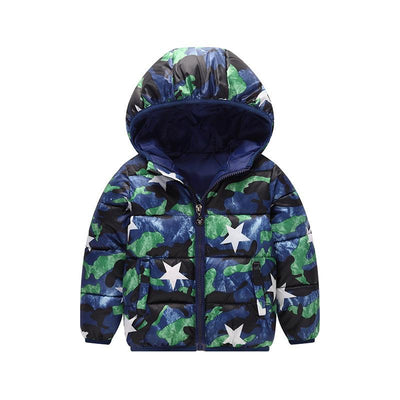 - 2-6 Years Dinosaur Pattern Girls Boys Coats 2017 Outerwear & Coats Fashion Boys Parkas Kids Clothes Warm Down Coats for Boys - 10 / 24M  jetcube