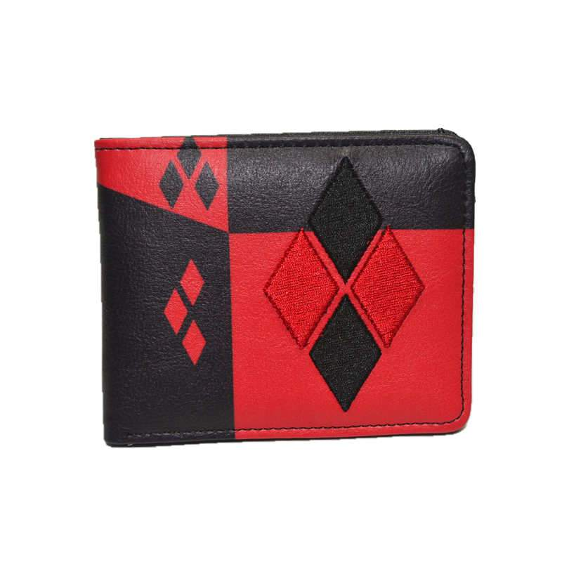 * Zipper bag *Cartoon wallet Wonder Woman undertale multi-style short wallet men and women