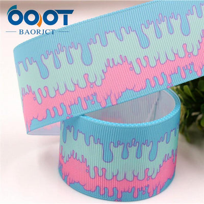 - 1711142,38MM cartoon Printed grosgrain ribbon,DIY handmade jewelry accessories, wedding birthday party gift packaging materials - 11  jetcube