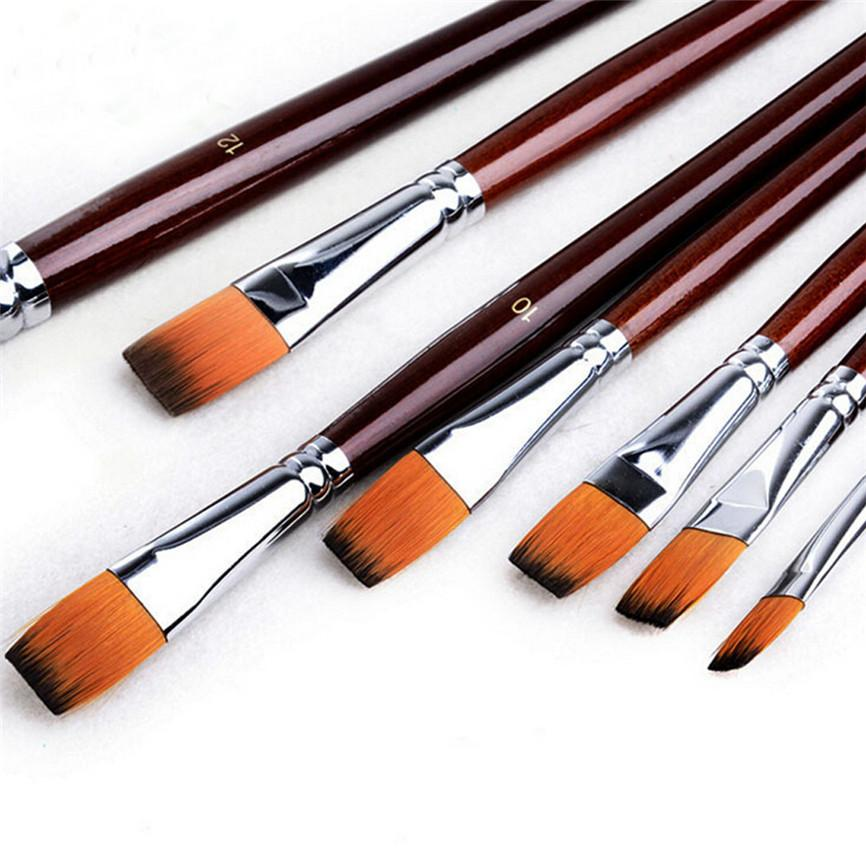 - 12Pcs Paint Brush Set Paint Gouache Painting In Oil Painting Palettes For Acrylic Pens 1128 -   jetcube