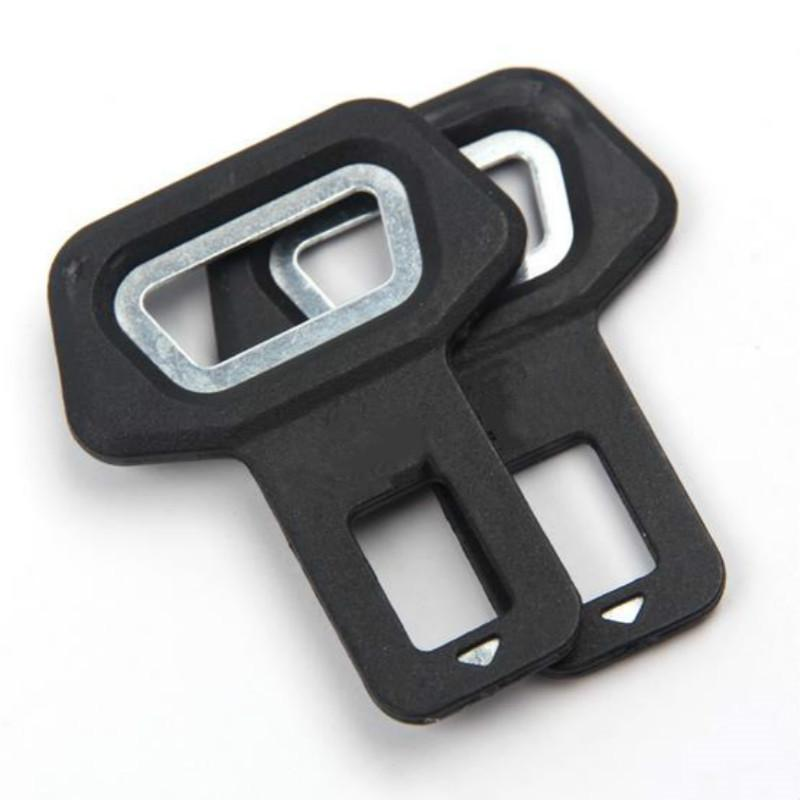 Universal Metal Safety Car Seat Belt Buckles Clip Bottle Opener Vehicle-mounted Bottle Opener Dual-use Car Styling