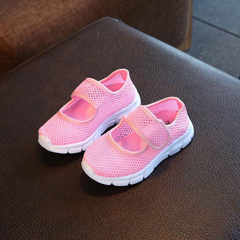 Retail 2017 Spring and Summer Candy Color Consistence of The Girls Students Slip-on Shoes Sneakers Shoes Boy A Pedal