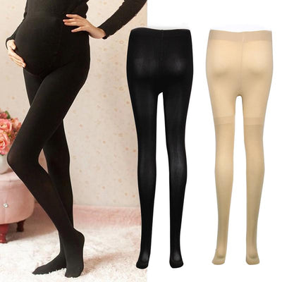 - 120D Women's Pregnant Socks Maternity Tights Solid Stockings Hosiery Pantyhose -   jetcube