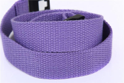 - 2.5cm webbing Waist Belt Candy Color Mens Womens Unisex Plain Webbing Canvas plastic Buckle Belt Personal Tailor -   jetcube