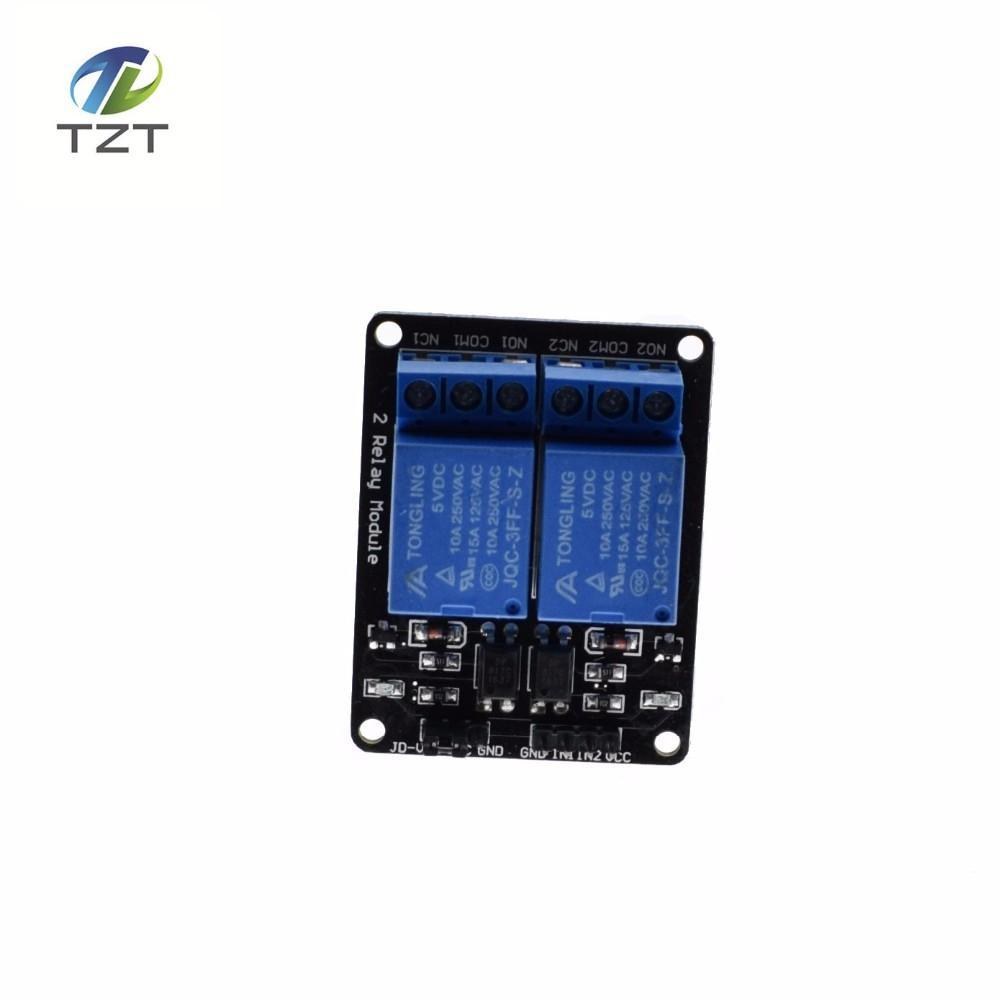 20pcs 2 Channel New Relay Module Expansion Board 5v Metal Detector Low Level Triggered