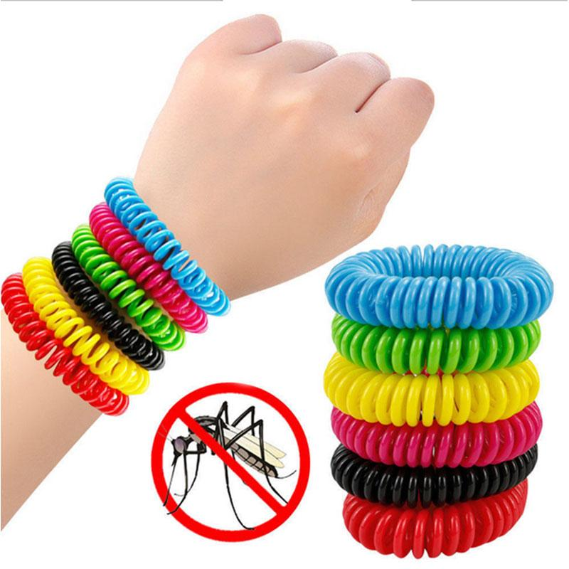 10PCS/Lot Bracelet Mosquitos Repellent Insects Killer Home Outdoor Indoor Safe Pest Repeller For Adult Children  UpCube- upcube