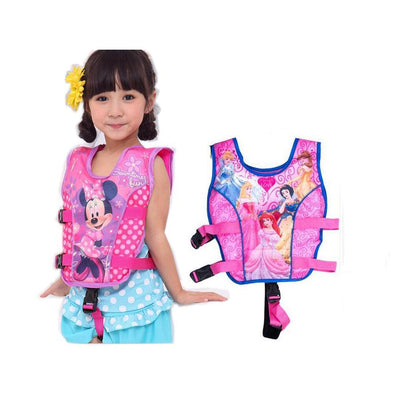 - 2-5 Years Child Swim Vest Baby Swim Trainer Fishing Life Jacket Circle Inflatable Flamingo Baby Float Swimming Pool Accessories -   jetcube