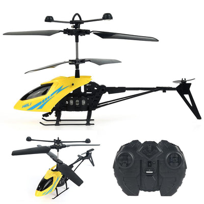 - 2.5 Channel Mini Micro 901 RC Helicopter Fuselage Portable Remote Radio Control Aircraft Gyroscope Plane Model Toys - Default Title  jetcube