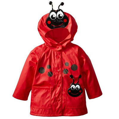 2017 Autumn Children Hooded Windbreaker Girls Cartoon Frog Jacket Kid Raincoat Girls Coat Boys Jacket Girls Outerwear Clothes  UpCube- upcube