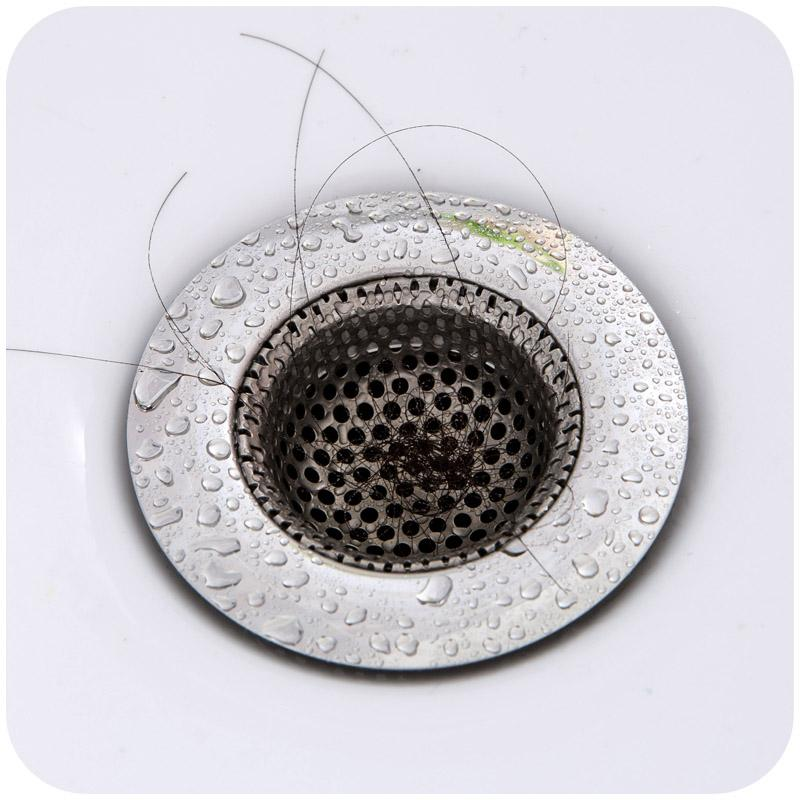 Three Size Stainless Steel Bathtub Hair Catcher