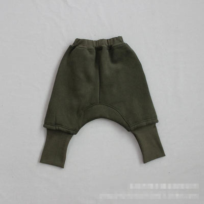 - 2-7 years 2017 New Wholesale Autumn Patchwork Boys Girls Pants Baby Pants pick size color -   jetcube