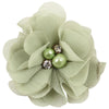 - 2.5 inch Pearl Diamond Headdress Flower Hair Accessories New Born Teens Girl Hairpin Children Fashion Elastic Hairclip Hairbow - 18  jetcube