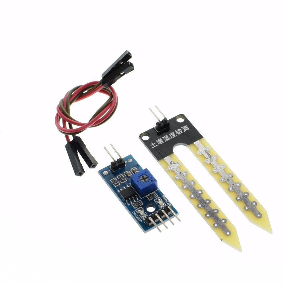 1pcs Lot Soil The Hygrometer Detection Module Moisture Sensor Circuit Robot Smart Car For Uno