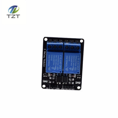- 2-channel New 2 channel relay module relay expansion board 5V low level triggered 2-way relay module for arduino hot sell -   jetcube