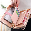 - 2016 han edition wallet female long lovely bowknot sell like hot cakes brand SHUNVBASHA students high-capacity mobile wallet -   jetcube