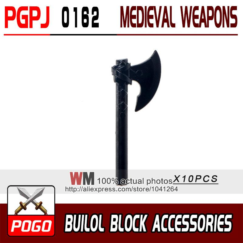- 10pcs/lot Latest Rome Knight Weapon Sword Accessories Building Blocks Bricks Medieval Knight Weapons - PGPJ0162  jetcube