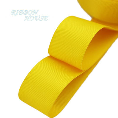 "- (5 meters/lot) 1"" (25mm) Grosgrain Ribbon Wholesale gift wrap Christmas decoration ribbons - Orange Yellow  jetcube"