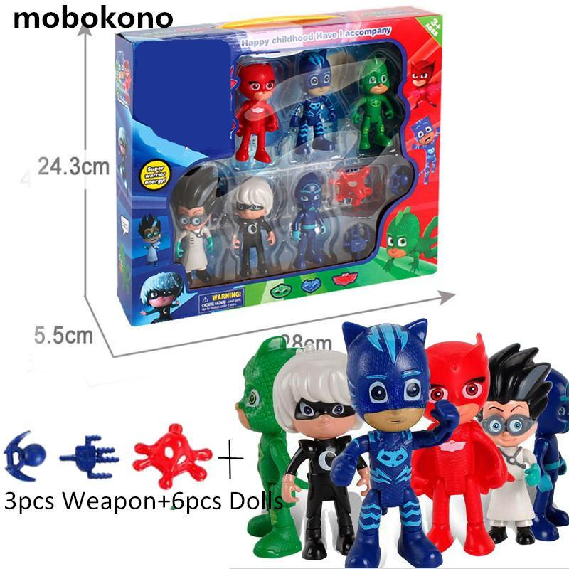 Boys Girls Cartoon Play Toys Peripheral Set With Box Children's Heros Characters Action Figure Toys  UpCube- upcube