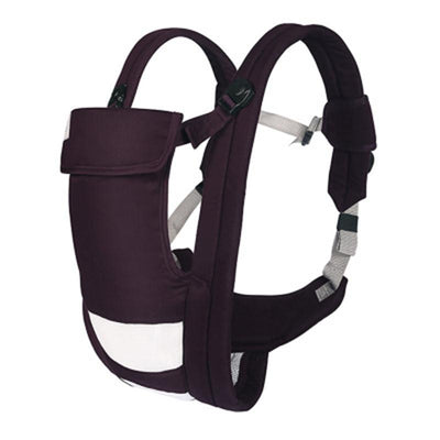 - 2-30 Months Breathable Multifunctional Front Facing Baby Carrier Infant Comfortable Sling Backpack Pouch Wrap Baby Kangaroo - Plum / OneSize  jetcube