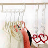 - 1PC Clothes Hanger Pants Skirt Adjustable Pinch Grip Save Space Clothing Organizer Cabide Clothes Hanger Hook Home Tools -   jetcube