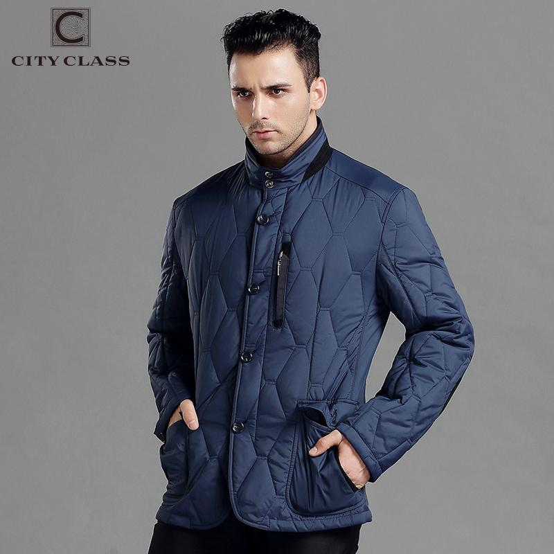 CITY CLASS Spring Autumn Mens Casual Coats Jacket Business Leisure Slim Fit Stand Collar Fashion Elbow patch Outwears 14424  dailytechstudios- upcube