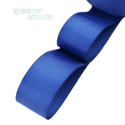 "- (5 meters/lot) 1"" (25mm) Grosgrain Ribbon Wholesale gift wrap Christmas decoration ribbons - Dark Blue  jetcube"