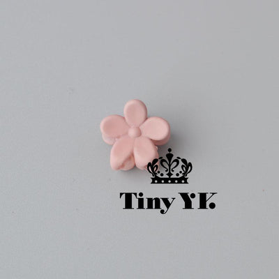 - 10 pcs New Fashion Baby Girls Small Hair Claw Cute Candy Color flower Hair Jaw Clip Children Hairpin Hair Accessories Wholesale - Khaki  jetcube