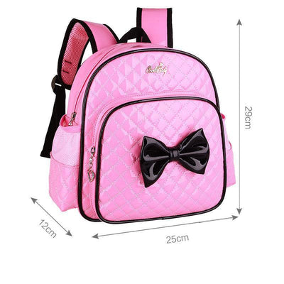 - 2-7 Years Girls Kindergarten Children Schoolbag Princess Pink Cartoon Backpack Baby Girls School Bags Kids Satchel Baby Backpack - Pink  jetcube